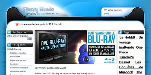Des films blu ray pas cher
