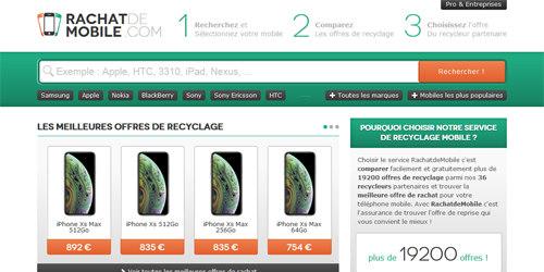 Un rachat mobile lg pour un recyclage mobile